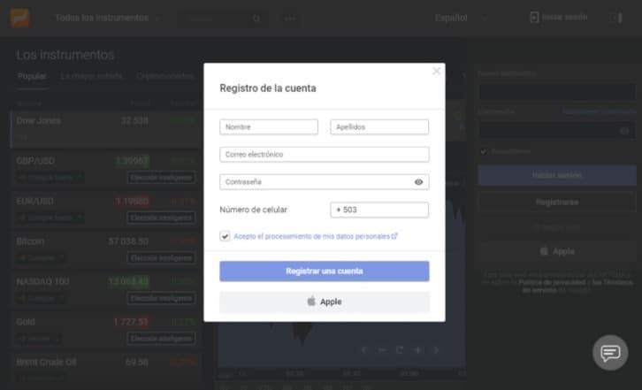registro libertex guatemala