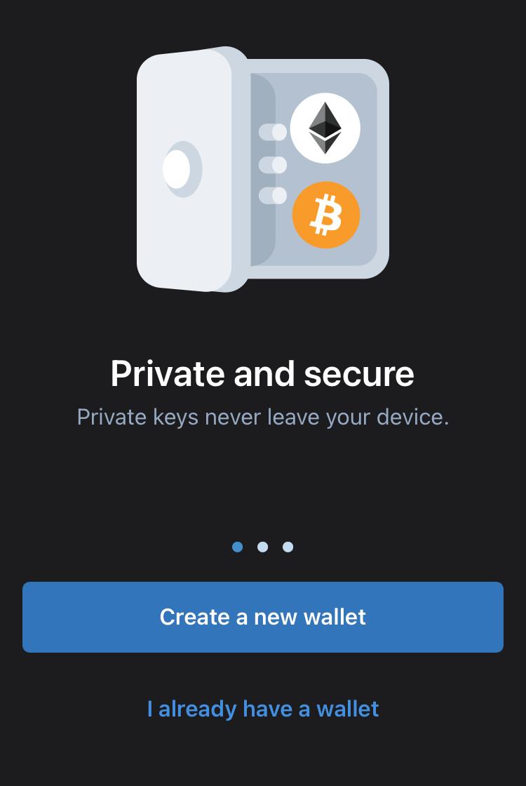 Crear wallet