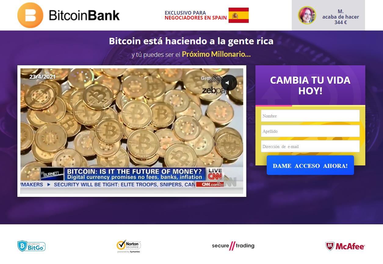bitcoin bank buscar