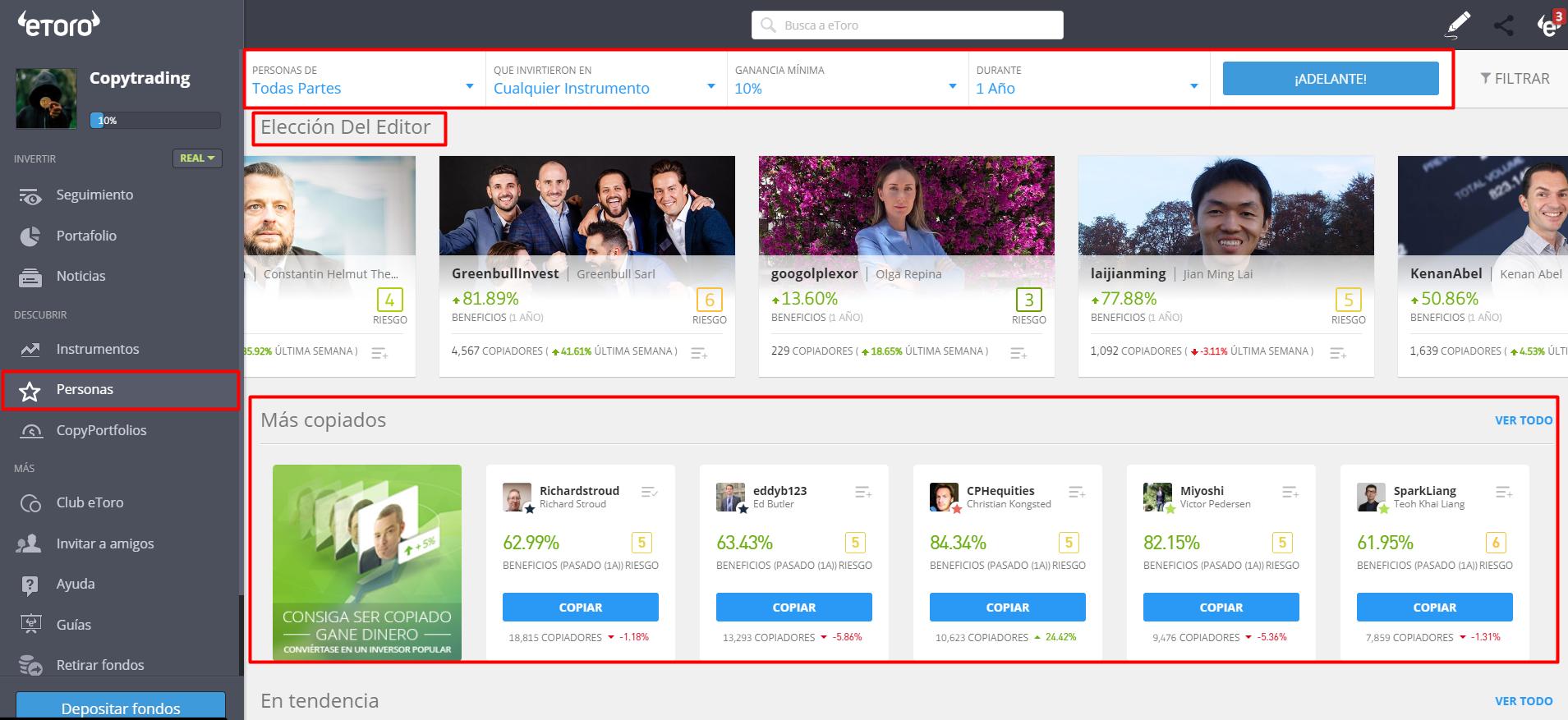 como ganar dinero por internet con copytrading